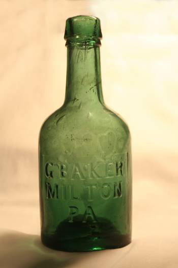 Bottle front - Baker's Brewery