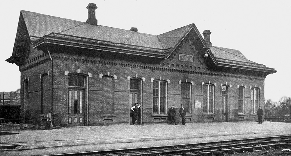 Philadelphia & Erie RR Passenger Station