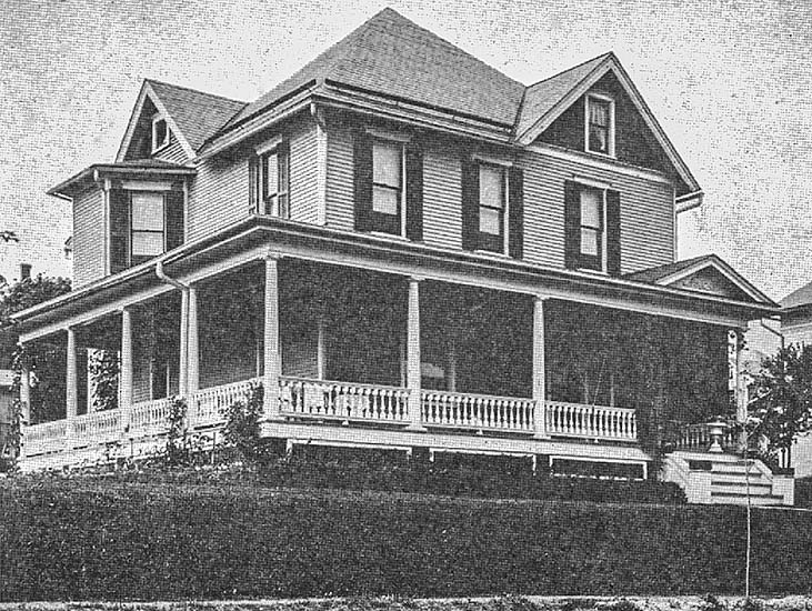 Home of Alfred Frank Krause