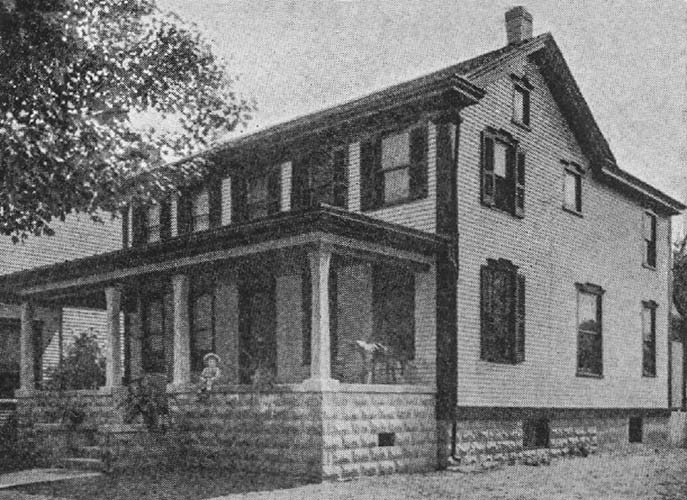 Home of John M. Correy