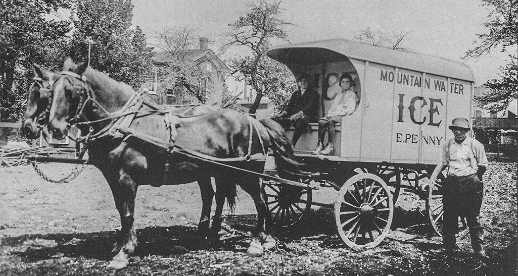 William Edward Penny Ice Wagon
